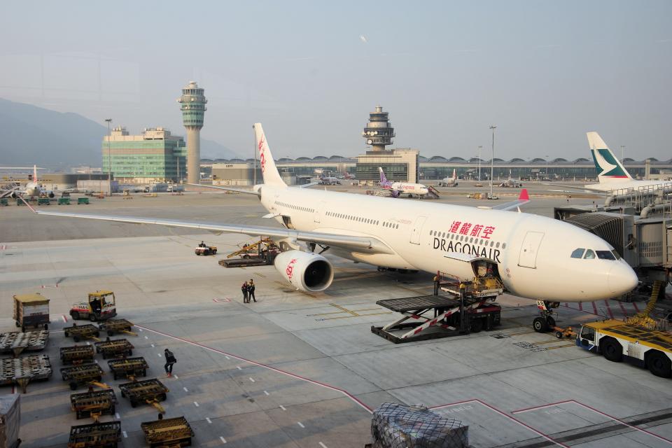yabyanさんの香港ドラゴン航空 Airbus A330-300 (B-LAB) 航空フォト