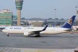 yabyanさんが、香港国際空港で撮影したエア・アスタナ 767-3KY/ERの航空フォト(写真)