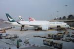 yabyanさんが、香港国際空港で撮影したキャセイパシフィック航空 A350-941の航空フォト(飛行機 写真・画像)