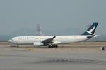 yabyanさんが、香港国際空港で撮影したキャセイパシフィック航空 A330-342Xの航空フォト(飛行機 写真・画像)
