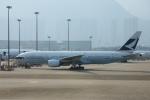 yabyanさんが、香港国際空港で撮影したキャセイパシフィック航空 777-267の航空フォト(飛行機 写真・画像)