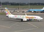 voyagerさんが、アムステルダム・スキポール国際空港で撮影したトランサヴィア 737-8K2の航空フォト(飛行機 写真・画像)