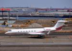 チャーリーマイクさんが、羽田空港で撮影したアメリカ企業所有 C-37B Gulfstream G550 (G-V-SP)の航空フォト(写真)
