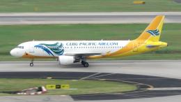 誘喜さんが、シンガポール・チャンギ国際空港で撮影したセブパシフィック航空 A320-214の航空フォト(飛行機 写真・画像)
