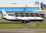voyagerさんが、アムステルダム・スキポール国際空港で撮影したTUIフライ・ネーデルランド 737-81Qの航空フォト(飛行機 写真・画像)