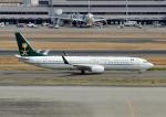 じーく。さんが、羽田空港で撮影したサウジアラビア財務省 737-9FG/ER BBJ3の航空フォト(飛行機 写真・画像)