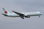 セブンさんが、成田国際空港で撮影したエア・カナダ 767-38E/ERの航空フォト(飛行機 写真・画像)