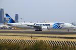 セブンさんが、成田国際空港で撮影したエジプト航空 777-36N/ERの航空フォト(飛行機 写真・画像)