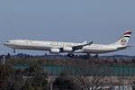 Scotchさんが、成田国際空港で撮影したエティハド航空 A340-642Xの航空フォト(写真)