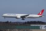 Scotchさんが、成田国際空港で撮影したターキッシュ・エアラインズ 777-3F2/ERの航空フォト(写真)