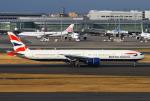 りんたろうさんが、羽田空港で撮影したブリティッシュ・エアウェイズ 777-336/ERの航空フォト(写真)