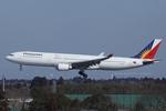 Scotchさんが、成田国際空港で撮影したフィリピン航空 A330-301の航空フォト(飛行機 写真・画像)