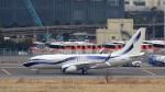 ハム太郎。さんが、羽田空港で撮影したインターナショナル・ジェットクラブ 737-7GV BBJの航空フォト(写真)