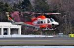 Dojalanaさんが、函館空港で撮影した北海道防災航空隊 412EPの航空フォト(飛行機 写真・画像)