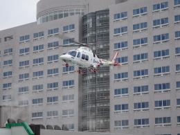 長岡赤十字病院ヘリポートで撮影された静岡エアコミュータ - Shizuoka Air Commuter Corporationの航空機写真