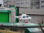 NAGAOKA.F.D.119さんが、長岡赤十字病院ヘリポートで撮影した静岡エアコミュータ AW109SP GrandNewの航空フォト(写真)