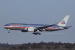Scotchさんが、成田国際空港で撮影したアメリカン航空 777-223/ERの航空フォト(写真)