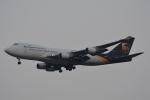 LEGACY-747さんが、スワンナプーム国際空港で撮影したUPS航空 747-44AF/SCDの航空フォト(飛行機 写真・画像)