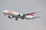 LEGACY-747さんが、スワンナプーム国際空港で撮影したスイスインターナショナルエアラインズ 777-3DE/ERの航空フォト(飛行機 写真・画像)