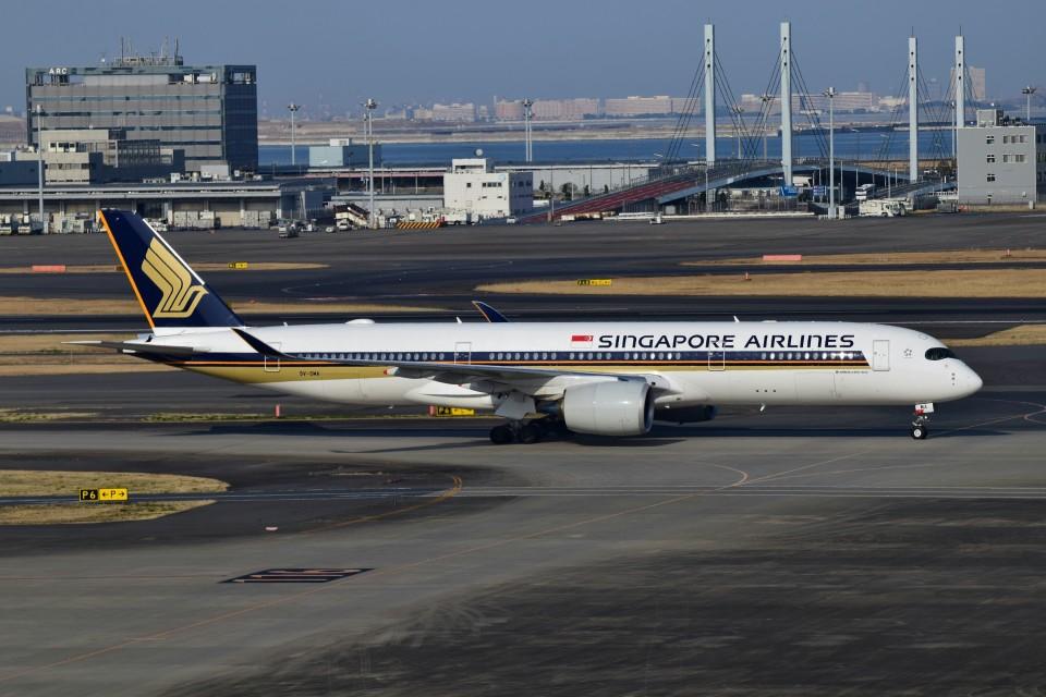 matatabiさんのシンガポール航空 Boeing 747-400 (9V-SMA) 航空フォト