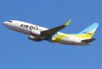 あしゅーさんが、羽田空港で撮影したAIR DO 737-781の航空フォト(飛行機 写真・画像)