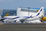 よっしぃさんが、成田国際空港で撮影したインターナショナル・ジェットクラブ 737-7GV BBJの航空フォト(写真)
