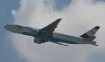 sarangさんが、香港国際空港で撮影したオーストリア航空 777-2Z9/ERの航空フォト(写真)
