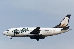 菊池 正人さんが、ロサンゼルス国際空港で撮影したフロンティア航空 737-2L9/Advの航空フォト(飛行機 写真・画像)
