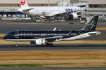 りんたろうさんが、羽田空港で撮影したスターフライヤー A320-214の航空フォト(写真)