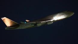 多摩川崎2Kさんが、羽田空港で撮影したアトラス航空 747-481の航空フォト(飛行機 写真・画像)