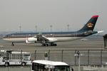 羽田空港 - Tokyo International Airport [HND/RJTT]で撮影されたヨルダン政府 - Jordan Governmentの航空機写真