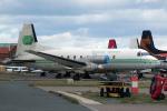 Echo-Kiloさんが、ブラックプール空港で撮影したエメラルド・エアウェイズ BAe-748 Srs2A/372の航空フォト(写真)