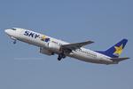 Scotchさんが、茨城空港で撮影したスカイマーク 737-86Nの航空フォト(飛行機 写真・画像)