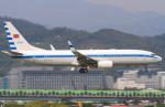 べガスさんが、台北松山空港で撮影した中華民国空軍 737-8ARの航空フォト(写真)