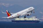 yabyanさんが、中部国際空港で撮影したフィリピン航空 A321-231の航空フォト(飛行機 写真・画像)