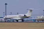 パンダさんが、成田国際空港で撮影したウェルズ・ファーゴ・バンク・ノースウェスト G-V-SP Gulfstream G550の航空フォト(飛行機 写真・画像)
