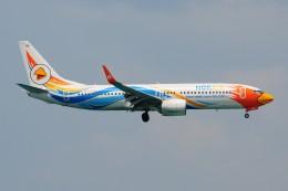 ぼんやりしまちゃんさんが、プーケット国際空港で撮影したノックエア 737-88Lの航空フォト(飛行機 写真・画像)