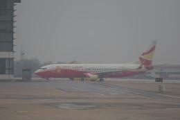 KKiSMさんが、武漢天河国際空港で撮影した雲南祥鵬航空 737-808の航空フォト(飛行機 写真・画像)