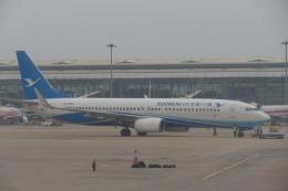 KKiSMさんが、武漢天河国際空港で撮影した厦門航空 737-86Nの航空フォト(飛行機 写真・画像)