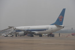 KKiSMさんが、武漢天河国際空港で撮影した中国南方航空 737-81Bの航空フォト(飛行機 写真・画像)