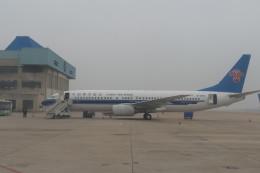 KKiSMさんが、武漢天河国際空港で撮影した中国国際航空 737-89Lの航空フォト(飛行機 写真・画像)