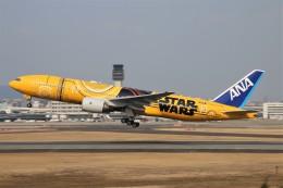 青春の1ページさんが、伊丹空港で撮影した全日空 777-281/ERの航空フォト(飛行機 写真・画像)