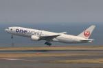 マルさんが、羽田空港で撮影した日本航空 777-246の航空フォト(写真)