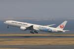 マルさんが、羽田空港で撮影した日本航空 777-346/ERの航空フォト(写真)
