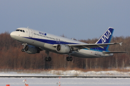 EXIA01さんが、中標津空港で撮影した全日空 A320-211の航空フォト(飛行機 写真・画像)