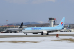 カワPさんが、函館空港で撮影した大韓航空 737-8Q8の航空フォト(写真)
