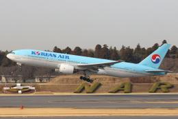 安芸あすかさんが、成田国際空港で撮影した大韓航空 777-2B5/ERの航空フォト(写真)