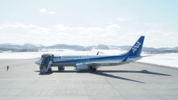 thomasYVRさんが、紋別空港で撮影した全日空 737-881の航空フォト(飛行機 写真・画像)