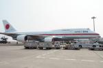 とおまわりさんが、羽田空港で撮影した航空自衛隊 747-47Cの航空フォト(写真)