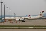 kasugaさんが、仁川国際空港で撮影したエティハド航空 A340-541の航空フォト(写真)